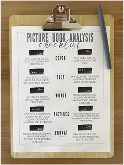 Picture Book Analysis | TinyRootsCo.