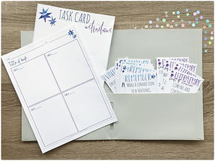 Book Study Task Cards