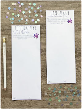 Book Study Bookmarks