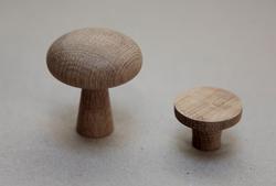 Møbelgreb - runde og med kant