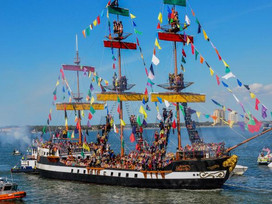 Be a pirate for a day at Gasparilla.