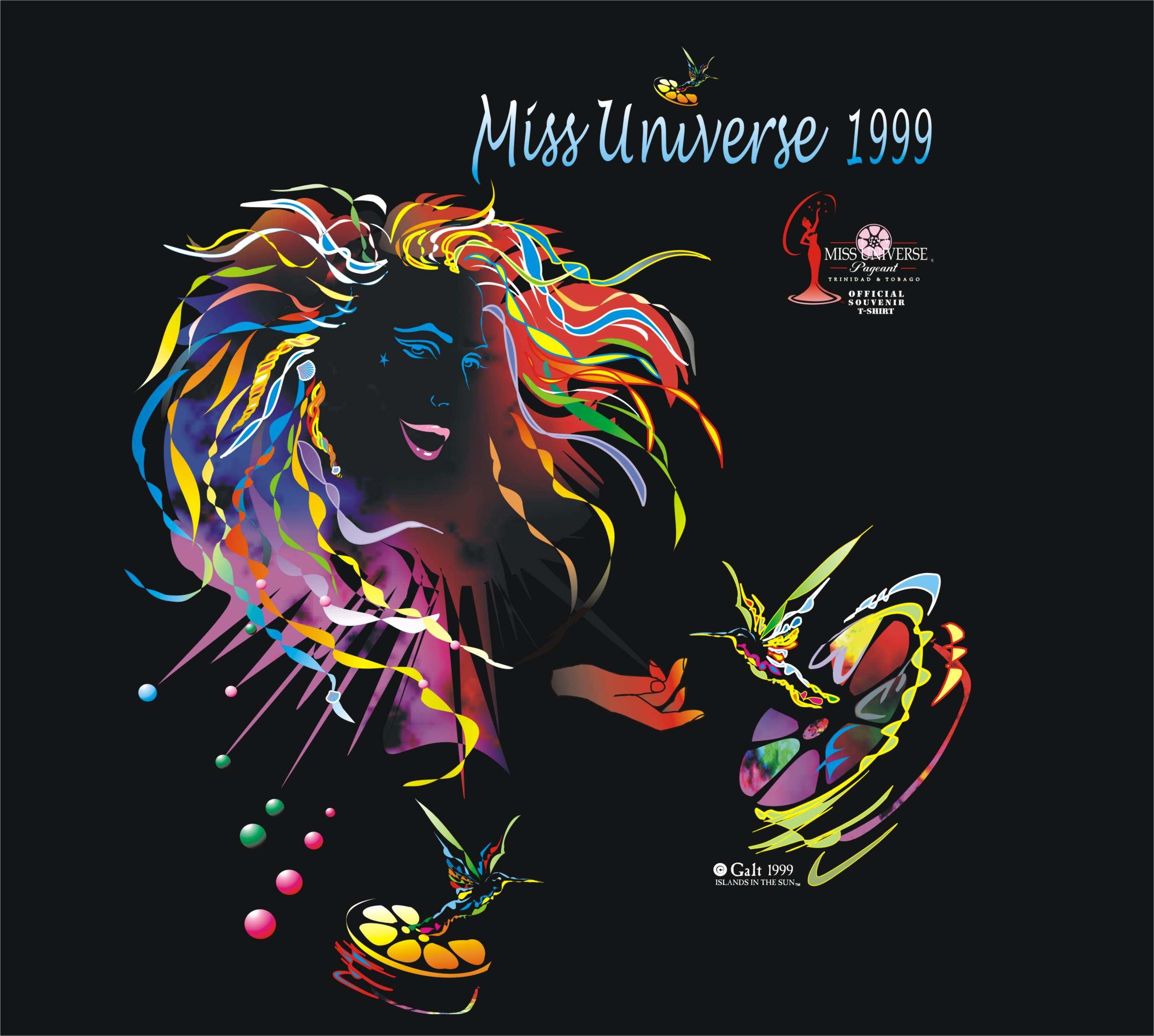 Miss universe tee 1999