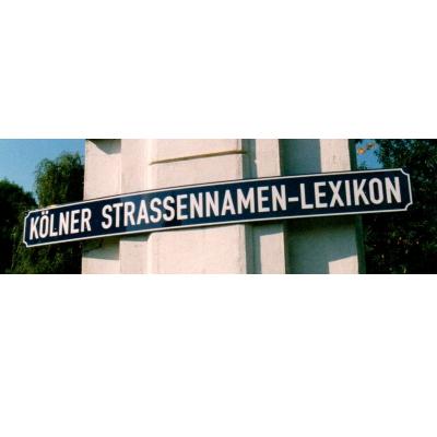 Logo Koelner Strassennamen Lexikon Tdks.