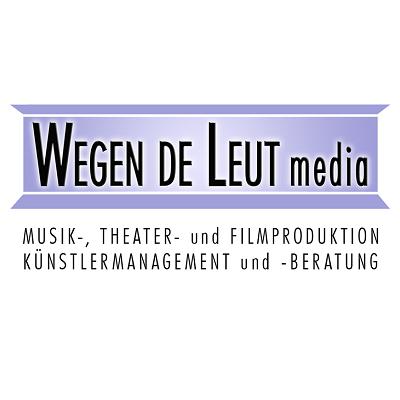 Logo wegen de leut media Tdks