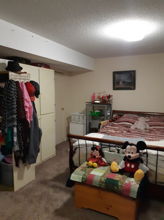 Basement Bedroom