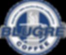 Logo of BluGre Davao Coffeeshop franchise