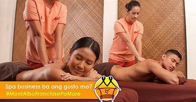 Service - Health & Beauty Franchise Philippines, Mont Albo Franchise Fee and Investment, Massage And Spa Franchise business