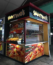 Food - Kiosk Franchise Philippines, Santino's Pizza Franchise Fee and Investment, Pizza Cart And Kiosk Franchise business
