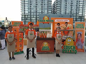 Food - French Fries Franchise Philippines, Couch Potato Franchise Fee and Investment, French Fries Franchise business