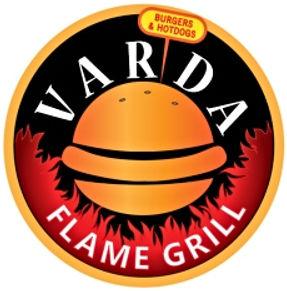 Varda Flame Grill Franchise Logo