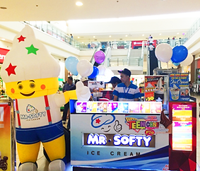 Food - Dessert Franchise Philippines, Mr. Softy Franchise Fee and Investment, Soft Serve Ice Cream Franchise business
