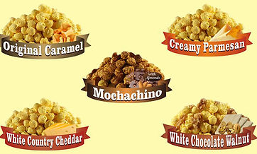 Chef Tony's Popcorn Franchise Products
