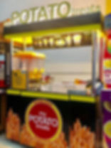 My Potato Treats Franchise Kiosk