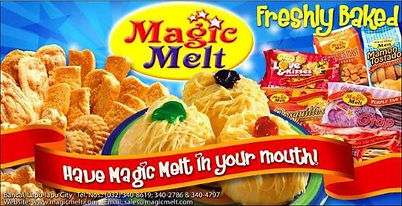 Food - Kiosk Franchise Philippines, Magic Melt Franchise Fee and Investment, Ensaymada And Baked Goods Franchise business