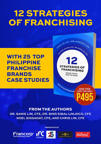 12 Strategies of Franchising Book_Poster, Franchise Consultants