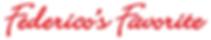 Federico's Favorite Frachise Logo, Federico's Favorite Restaurant Franchise Logo
