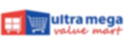 Ultra Mega Value Mart Logo Grocery Franchise