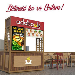 Food - Kiosk Franchise Philippines, Adowbowls Franchise Fee and Investment, Fast Food Franchise business