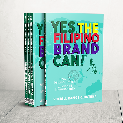 Yes the Filipino Brand Can by Sherill Quintana
