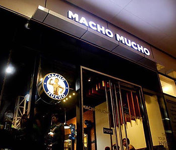 Store Front of Macho Mucho Barber Shop Franchise