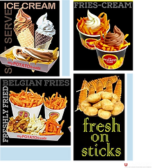 Food - French Fries Franchise Philippines, Potato Treats Franchise Fee and Investment, Fries And Ice Cream Franchise business