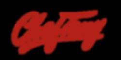 Chef Tony's Popcorn Franchise Logo