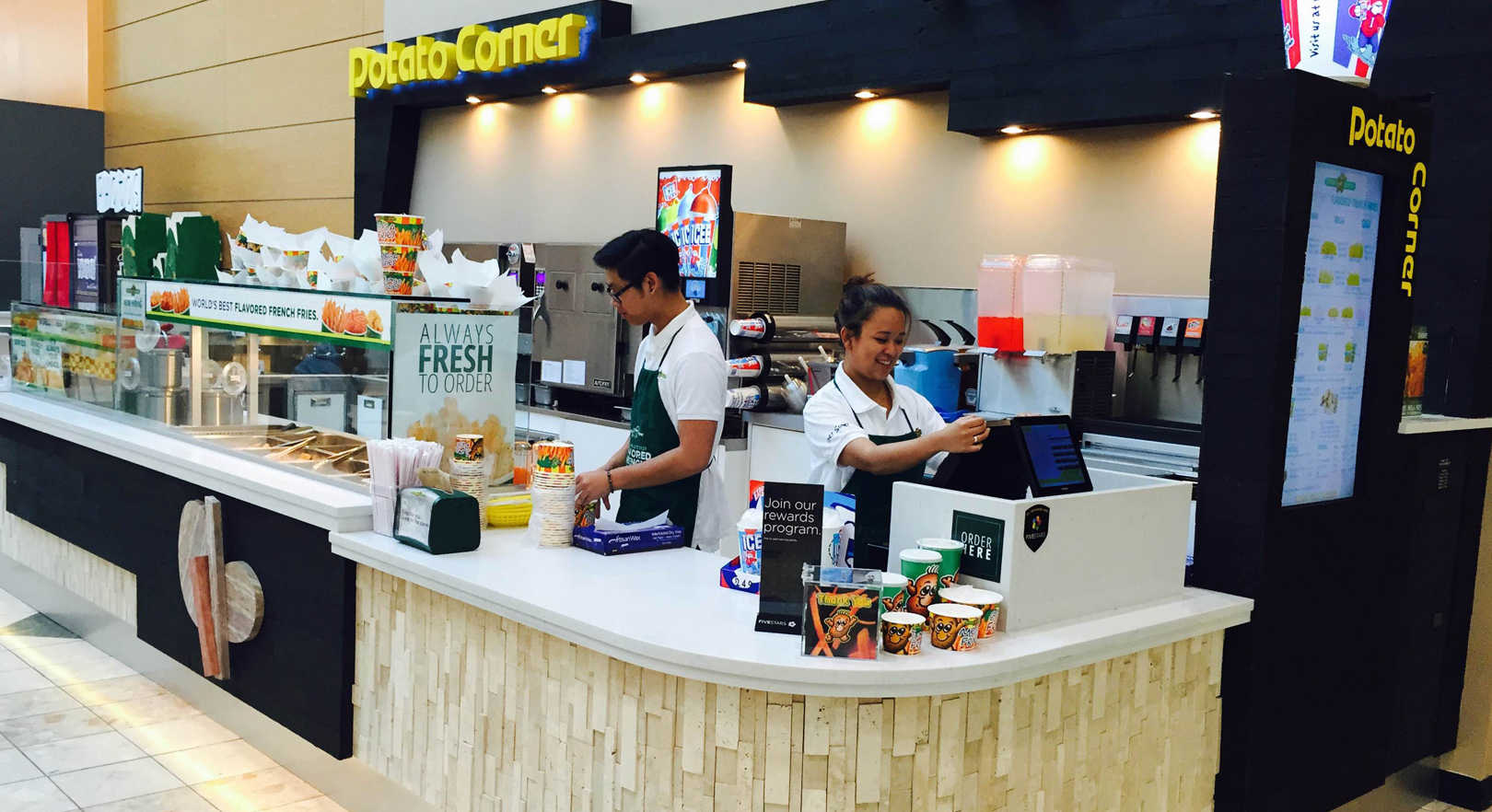 Potato Corner Franchise Thailand