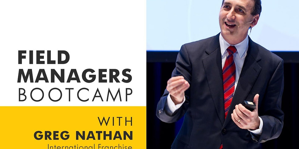 Franchise Field Managers Bootcamp