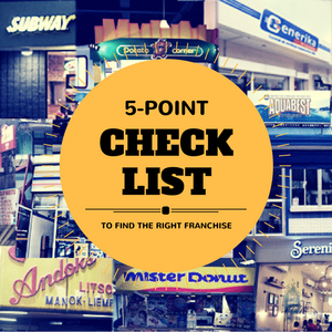 5 Point Franchising Checklist