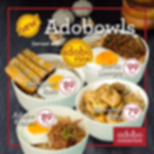 Adobo Connection Franchise Food Menu