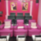 Pink Parlour franchise equipments