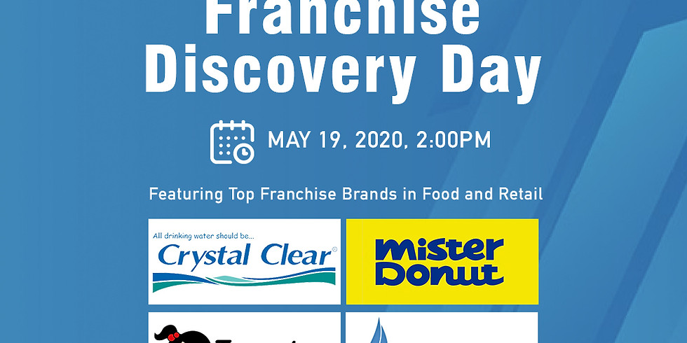Franchise Discovery Day - Crystal Clear, Mister Donut, Brent Gas and Tomochan Ramen Express