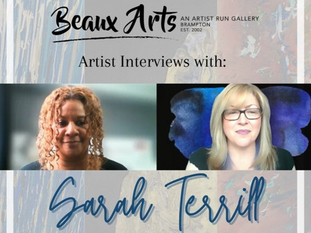 """Artist Interview with Sarah Terrill for """"I Know Why"""" Art Exhibition"""