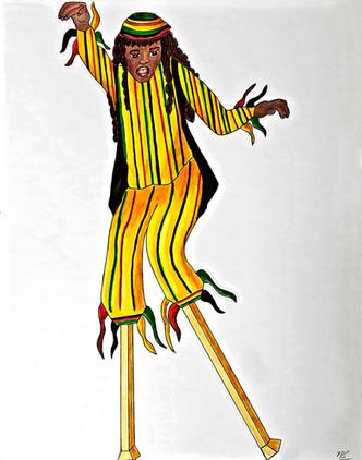 Carnival Moko Jumbie