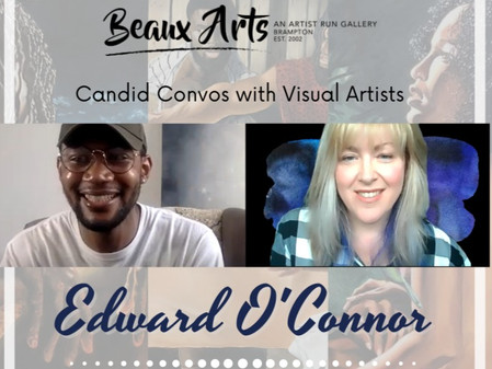 """Artist Interview with Edward O'Connor for """"I Know Why"""" Art Exhibition"""