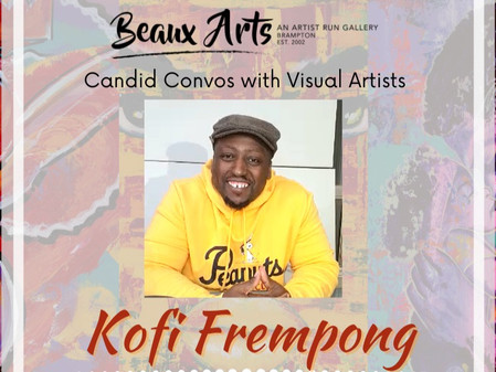 """Artist Interview with Kofi Frempong for """"I Know Why"""" Art Exhibition"""