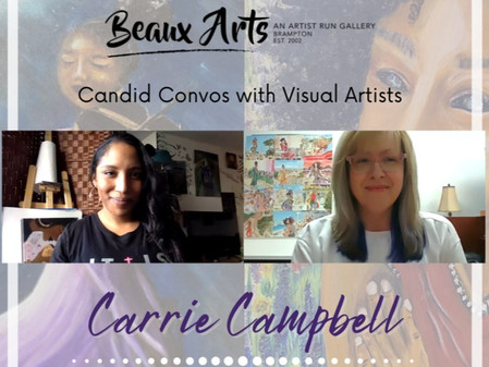 """Artist Interview with Carrie Campbell for """"I Know Why"""" Art Exhibition"""