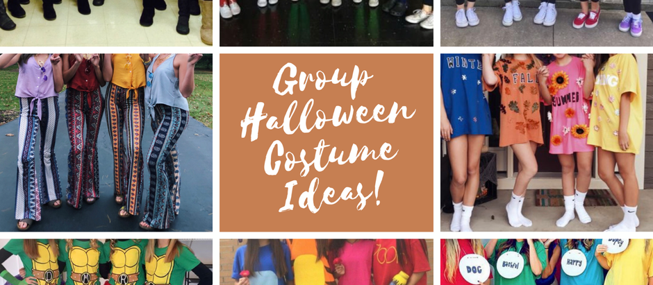 10 Group Halloween Costumes