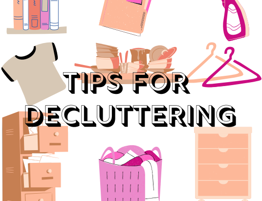 Tips For Decluttering