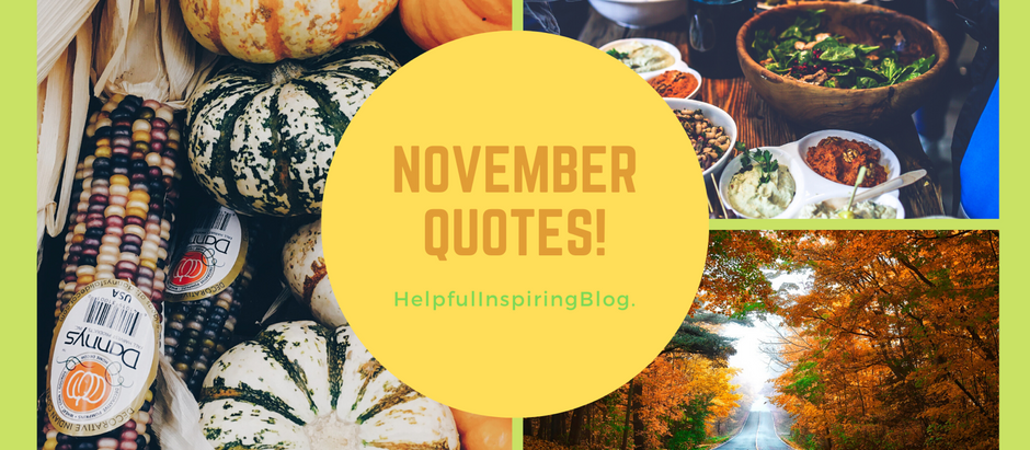 5 Quotes for November