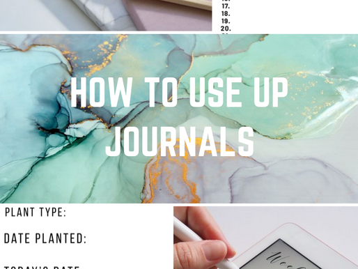 How To Use Up Journals: