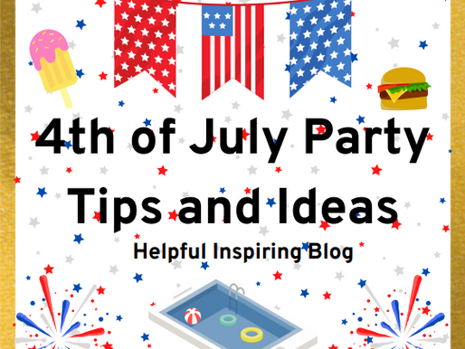 4th of July Party Tips and Ideas