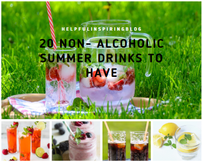 20 Non- Alcoholic Summer Drinks To Have