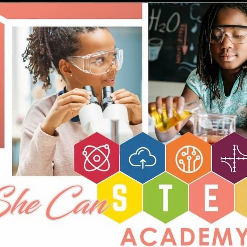 NEW She Can STEM Academy Cohort