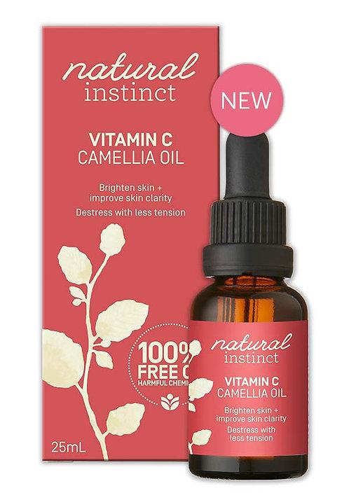 Natural Instinct - Vitamin C + Camellia Oil (25ml)