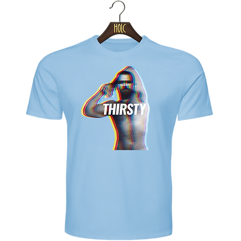 Thirsty Anaglyph t shirt