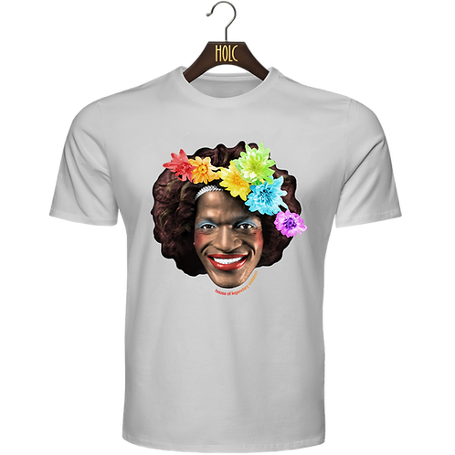 Marsha P Johnson Rainbow Flag t shirt
