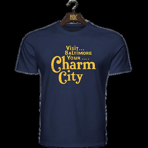 Baltimore Charm City t shirt