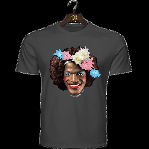 Marsha P Johnson Trans Flag t shirt