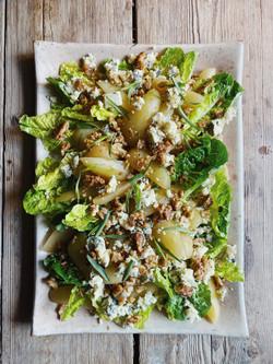 Pear Salad Plated